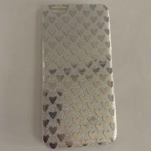 *iPhone 6S PLUS Case - Sparkle Heart Design